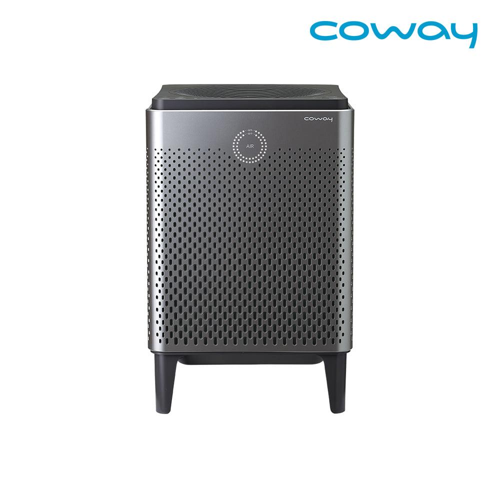 코웨이 공식판매처 듀얼파워 공기청정기 AP-1515D 메탈릭실버