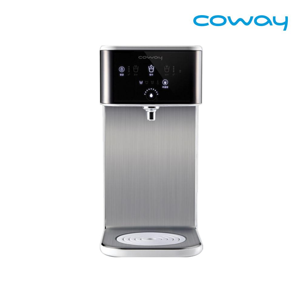 [렌탈] 코웨이 공식판매처 한뼘 초소형 냉온 정수기 CHP-243N / 의무사용 3년