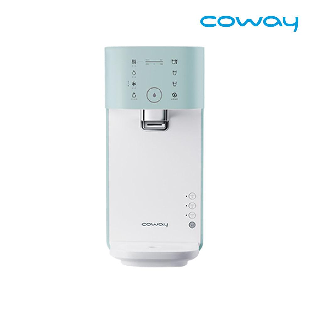 [렌탈] 코웨이 공식판매처 마이한뼘 냉온정수기 CHP-320N 베이비민트 / 의무사용 3년