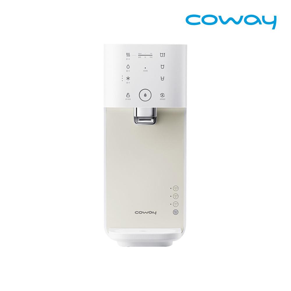 [렌탈] 코웨이 공식판매처 마이한뼘 냉온정수기 CHP-480L 아이보리크림 / 의무사용 3년