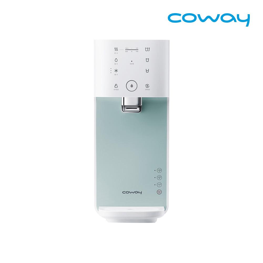 [렌탈] 코웨이 공식판매처 마이한뼘 냉온정수기 CHP-480L 베이비민트 / 의무사용 3년