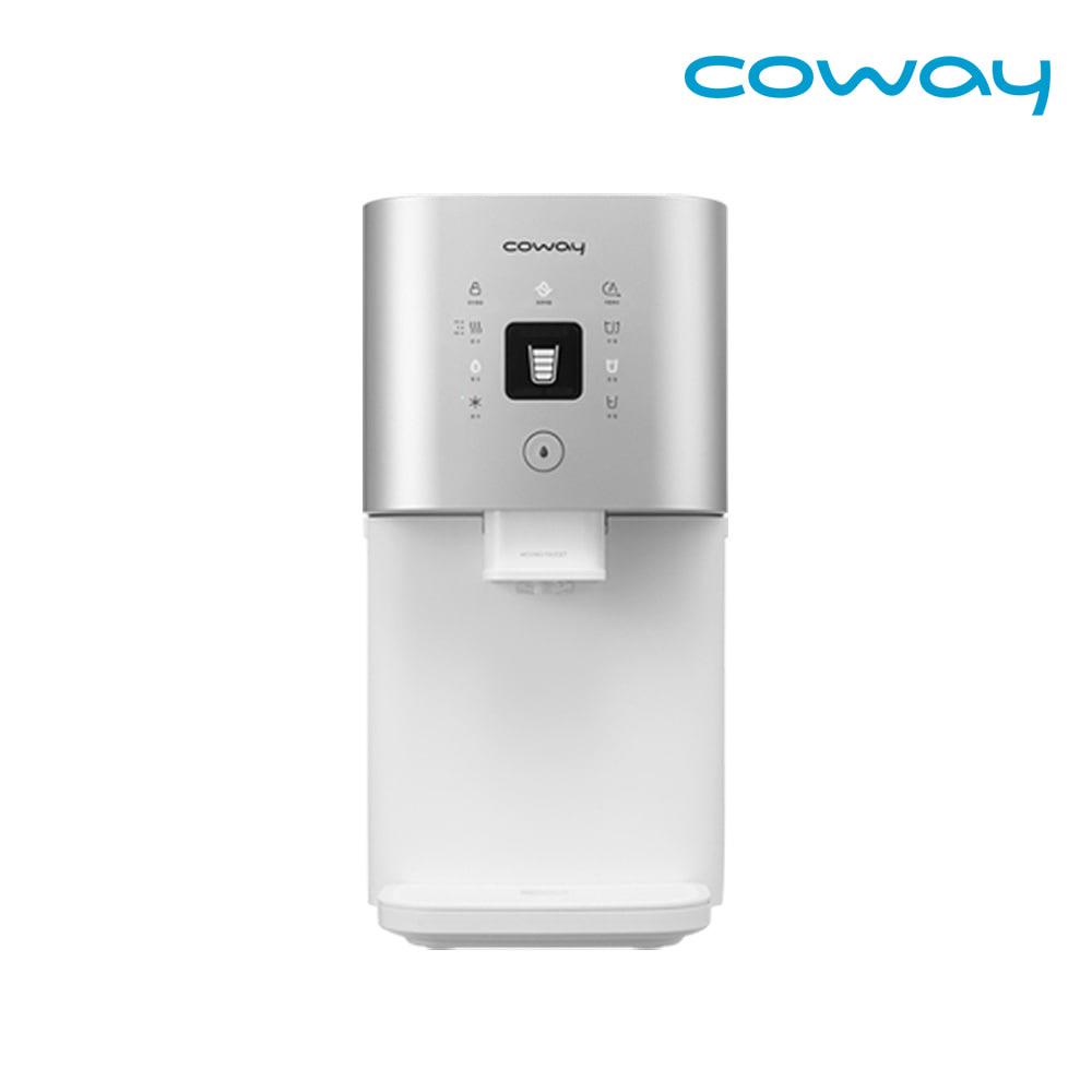 [렌탈] 코웨이 시루직수 냉온정수기 렌탈 CHP-7300R 실버 / 약정 3년 / 등록비 0원