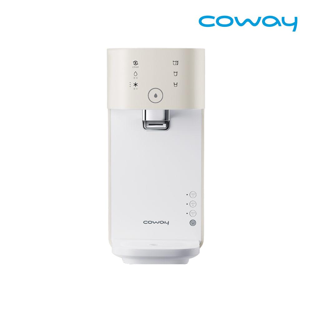 [렌탈] 코웨이 공식판매처 마이한뼘 냉정수기 CP-320N 아이보리크림 / 의무사용 3년