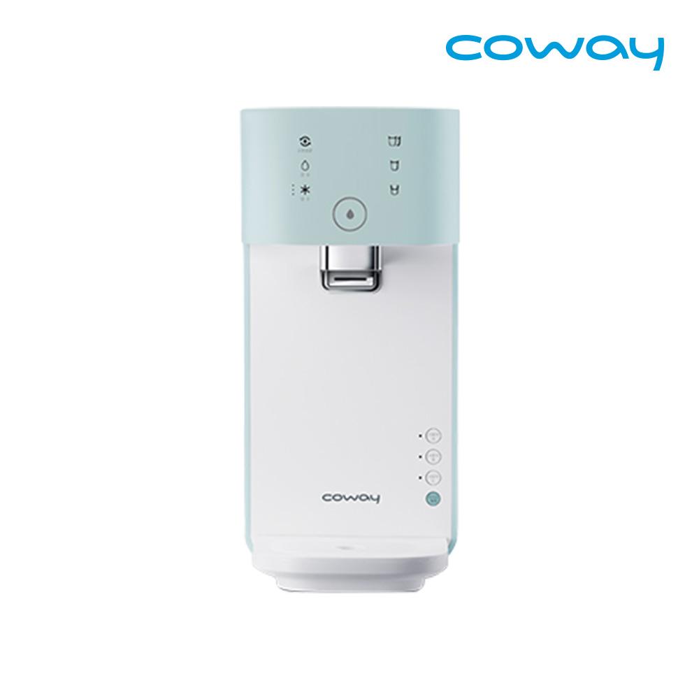 [렌탈] 코웨이 공식판매처 마이한뼘 냉정수기 CP-320N 베이비민트 / 의무사용 3년