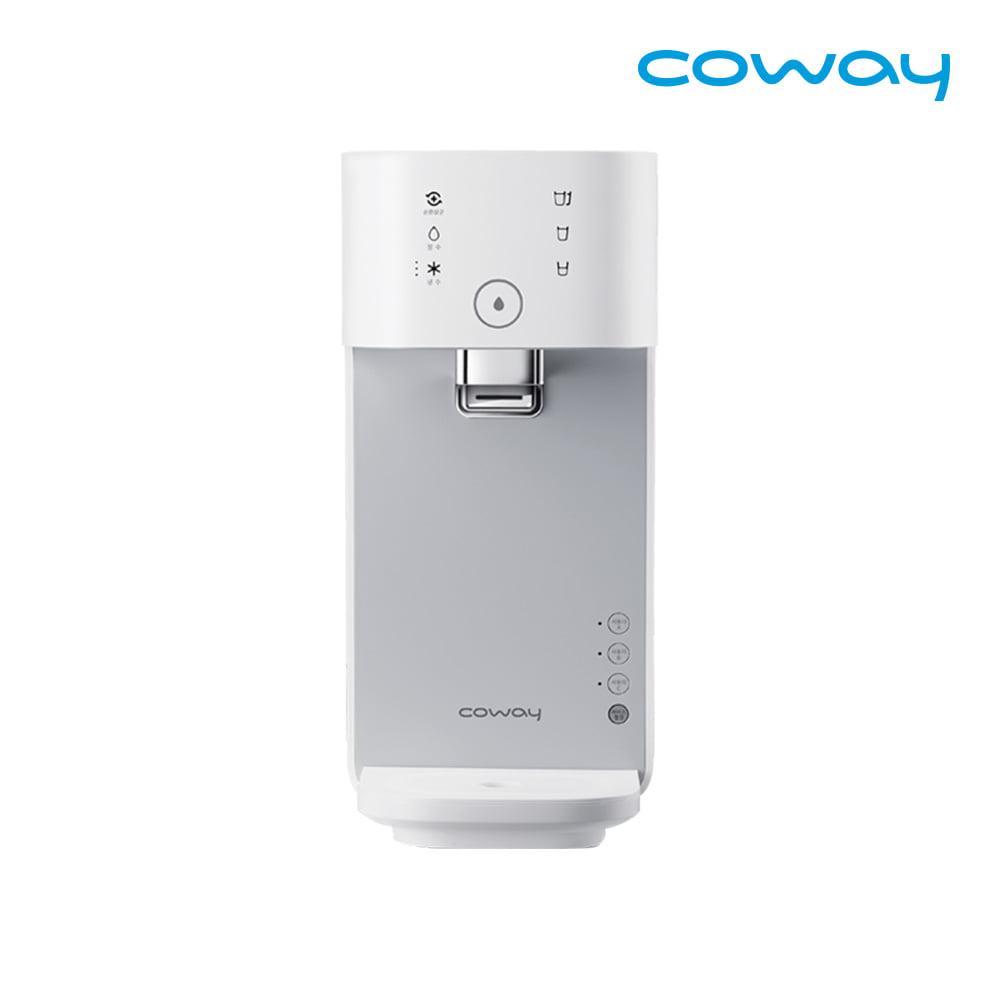 [렌탈] 코웨이 공식판매처 마이한뼘 냉정수기 CP-320N 모노화이트 / 의무사용 3년