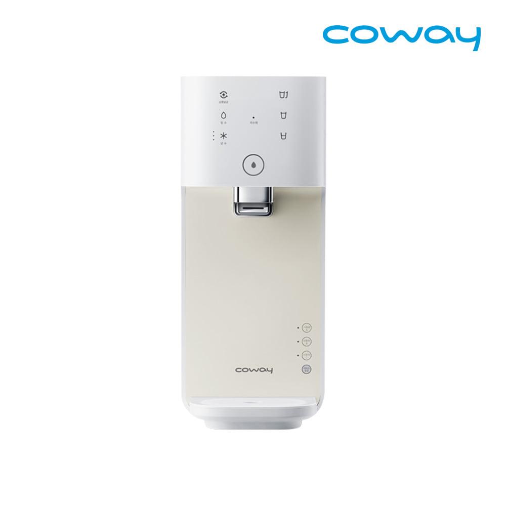 [렌탈] 코웨이 공식판매처 마이한뼘 냉정수기 CP-480L 아이보리크림 / 의무사용 3년