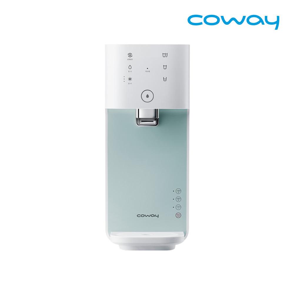 [렌탈] 코웨이 공식판매처 마이한뼘 냉정수기 CP-480L 베이비민트 / 의무사용 3년