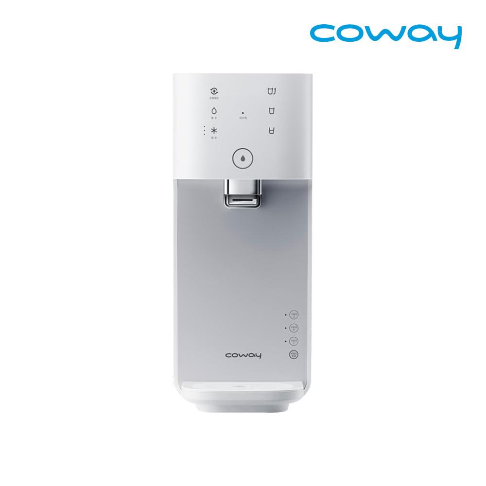 [렌탈] 코웨이 공식판매처 마이한뼘 냉정수기 CP-480L 모노화이트 / 의무사용 3년