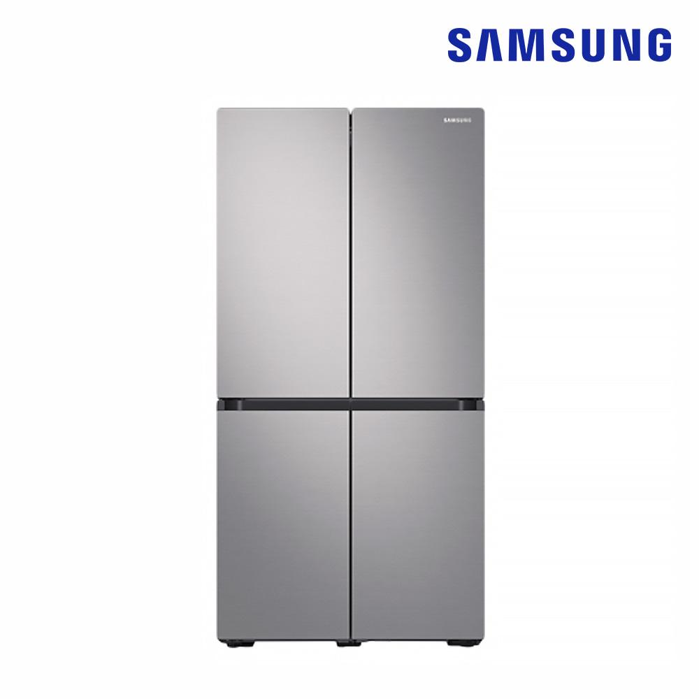 [삼성전자] 양문형냉장고(Bespoke) 4도어 862L (RF85R9333T2) [스마트렌탈]