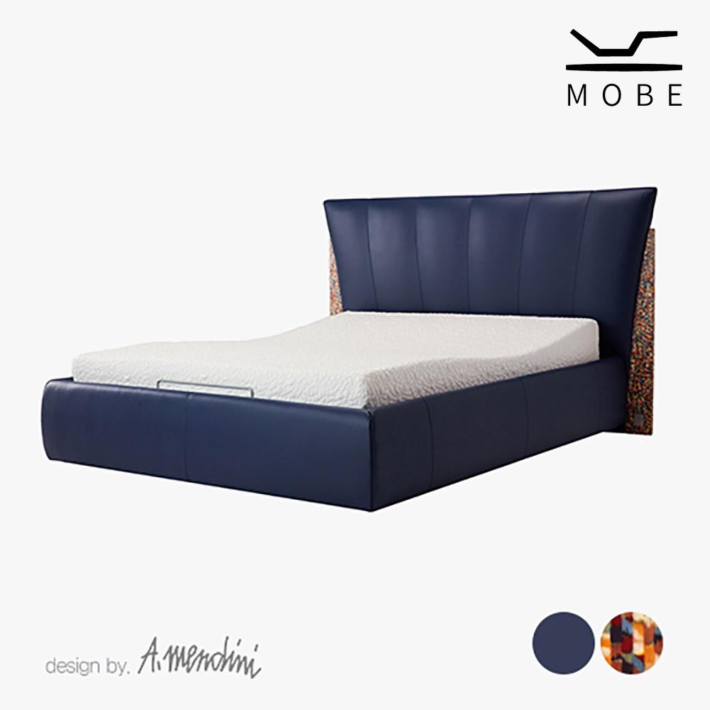 [모베] 피졸로 잉크네이비 & 멘디니 모션베드 침대 Q [스마트렌탈]