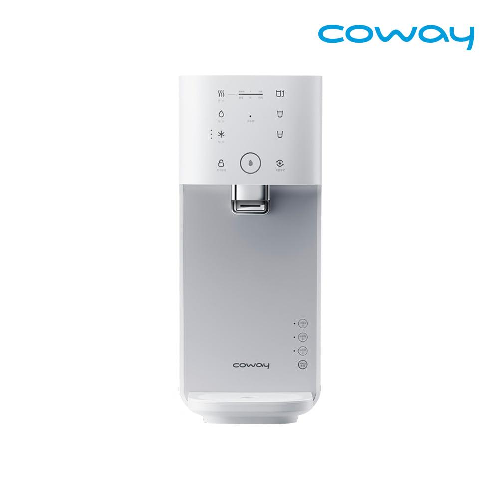 코웨이 마이한뼘 냉온정수기 렌탈 CHP-480L 모노화이트 / 약정 3년 / 등록비 0원